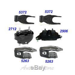 06-11 Chevrolet Impala/ Monte Carlo 3.9L Engine Motor & Trans. Mount Set 6 M809