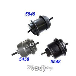 09-15 For Chevy Traverse / GMC Acadia 3.6L Engine Motor & Trans. Mount 3PCS M990