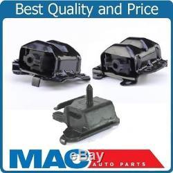 100% New Torque Tested Motor Mounts + Trans for 98-02 V8 5.7L Camaro 3Pc Kit