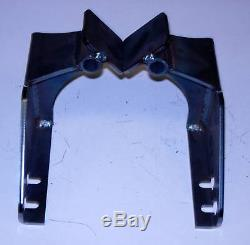 1949 1950 1951 1952 1953 1954 Chevy Car Side Motor Mounts, Brackets Only