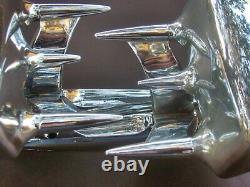 1950s 1960s RARE Fender Mirrors Rat Rod Kustom Batman Rocket Old Skool Kool Nice