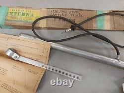 1955 1956 1957 CHEVROLET TRUCK Radio Chrome Antenna OEM GM Fender mount Chevy