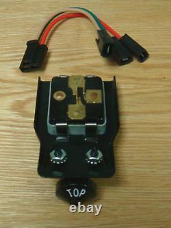 1955 1956 CHEVY CONVERTIBLE TOP MOTOR SWITCH with KNOB and MOUNTING BRACKET New