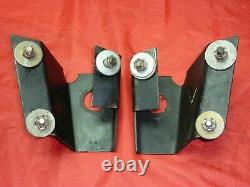 1955-56-57 Chevy Vintage Hurst Engine Motor Mount Brackets Tri Five SBC BBC