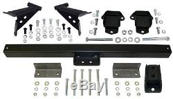 1955-57 Chevy Belair Engine and Transmission Mount Kit, 3/4 Forward Location