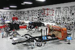 1955-57 Chevy Belair Front Motor Mount Power Steering Pump Bracket Kit
