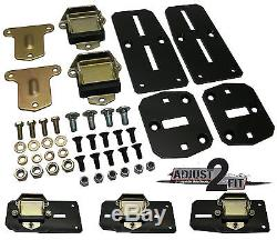 1963-67 Chevy-GMC Truck Tubular LS Engine Conversion and Transmission Mount kit