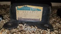 1964-72 GTO, Chevelle, 442, NOS GM Engine Mount Frame Brackets 9773876 9773877