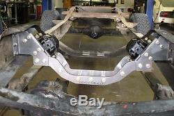 1967-72 Chevrolet GMC 4X4 LS Swap Cross Member Plain Steel Complete Kit
