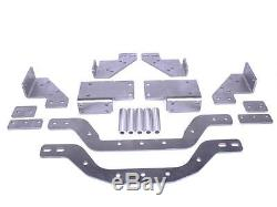 1967-72 Chevrolet GMC 4X4 LT Swap Cross Member Plain Steel Complete Kit