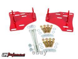 1974-1992 GM F-Body, 1978-1988 GM G-Body LSX Motor Mounts UMI-2406 RED