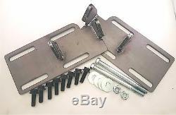 1988-1999 C1500 TRUCK K5 2WD Engine Mount Adapter Swap Kit LSx LS1 LS #14055KU