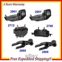 1995-2005 Chevrolet Lumina/ Monte Carlo Engine Motor & Trans. Mount Set 6PCS M662