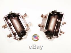 2004-2009 Trailblazer Envoy 9-7x TBSS Urethane Motor Mounts LS2 #16004A USA MADE