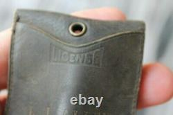 30s 40s License Holder Kelly Tires Edison Batteries Kendall oil leather pouch