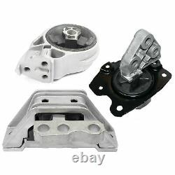 3PCS Motor & Manual Trans. Mount For Chevrolet Cobalt HHR Pontiac G5 Saturn Ion