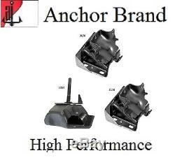 3 PCS Motor & Trans Mount For 2003-2011 Chevrolet Express 3500 5.3L 2WD