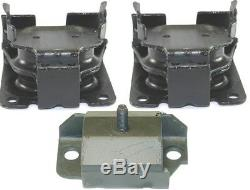 3pcSet Motor Mounts Fit Auto 2WD Chevy S10 1996 2003 4.3L for Engine N Trans