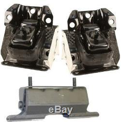3pcSet Motor Mounts fit 4x4 2007 13 Chevy Truck Silverado 1500 5.3L 6.0L 6.2L