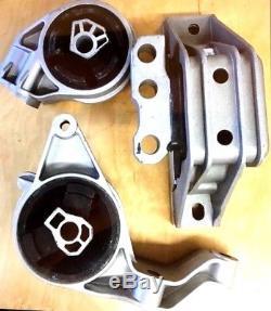 3pc Motor Mount For 2006-2011 Chevy Hhr Automatic 2.2l 2.4l 2008-2010 Hhr 2.0l