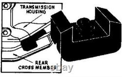 4 Rear motor mounts Chevrolet truck 1959 1960 1961 1962 -Replace old