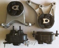 4pcSet Motor Mounts fit 2008 2009 2010 2011 2012 Chevy Malibu 3.6L Engine Trans