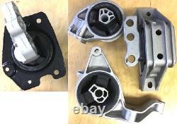 4pc Engine And Transmission Mount For 2005-2010 Chevrolet Cobalt 2.2l 2.4l Auto
