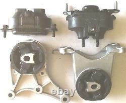 4pc Engine & Transmission Mount For 2008-2012 Chevy Malibu 3.6l Auto Fast Ship
