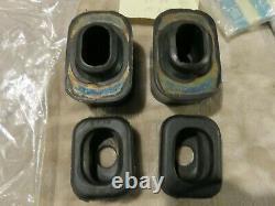 53-62 C1 Corvette Engine Mount Rubber Insulator Set (4)-NOS GM #3703823-NCRS