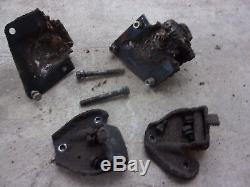 64 Chevrolet 194 230 250 292 Inline 6 I6 Cylinder Motor Mounts Complete Oem Set