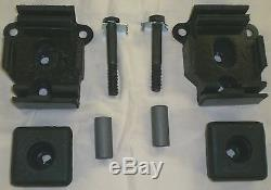 67-71 Chevy/GMC Truck Big Block Rubber Motor Mounts Pair Tower 1967 72 1972 1971