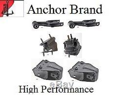 6 PCS Engine Motor & Trans. Mount Set For Chevrolet IMPALA 2006-2009 (5.3L)