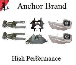 6 PCS Engine Motor & Trans. Mount Set For Chevrolet UPLANDER 05-09 (3.9L, 3.5L)