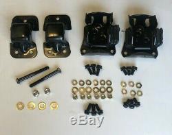 70-81 Camaro Motor Mounts Frame Mount Bbc 396-454 Grade 8 Bolts New Kit