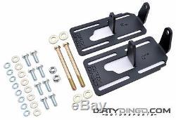 73-87(91) LS1 LS 2WD Chevrolet Adjustable Swap Mounts Powder Coat DD-2500C-PC