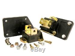 7-520-BL PROTHANE Chevrolet LS Motor Mount Conversion Kit Tall / Narrow Mounts