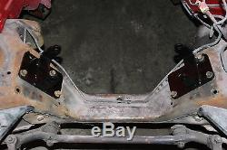 82-92 Camaro/Firebird LS1 LSX Conversion Engine Swap Motor Mounts Pair Red