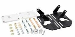 88-99 LT 2WD Chevrolet Adjustable Swap Mounts Plain Steel DD-4550C