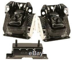 9M1102A 3pc Motor Mounts fit AWD SUV 5.3L 6.0L 6.2L 2007 2014 GMC Yukon XL1500