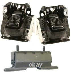 9M1102 3pc Motor Mounts fit 2007 2014 4WD Chevy Tahoe 5.3L 6.0L Engine n Trans