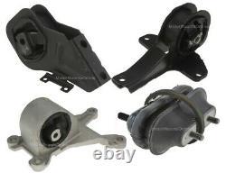 9MB112A 4pc Motor Mounts fit 2.4L 3.1L engine 1997 1998 1999 2003 Chevy Malibu