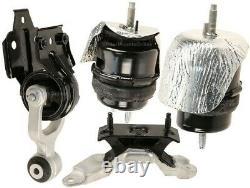 9MB138 4pc Motor Mounts fit 3.6L ENGINE Chevy Impala 2012 2013 2014 AUTO Trans