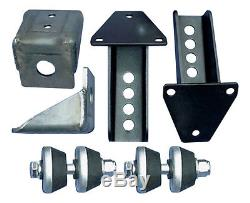 ADVANCE ADAPTERS Steel Weld-On Motor Mount Kit Chevy V6/V8 P/N 713007