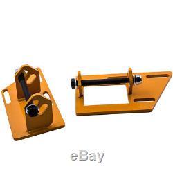 Adj. Motor Swap Mount Brackets Adapter Kits for S10 S15 2WD SBC Base Engines V8
