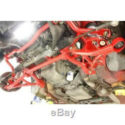 BMR K-Member Motor Mounts Turbo Red for Chevrolet/Pontiac Camaro/Firebird 98-02