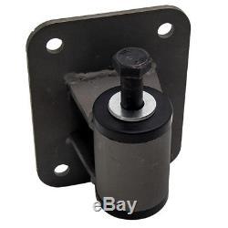 Black Engine Motor Mounts for Chevrolet LS1 LS2 LS3 LS6 Conversions Universal