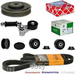 CONTI 6PK2490+Keilrippenriemensatz Spannarm+R. S für Audi A4 A6 A8 Q7 2.7 3.0TDI