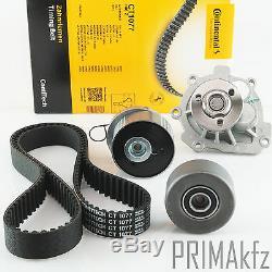 CONTI CT1077 Zahnriemen + Rollensatz + Wasserpumpe Opel 1.6 1.8 16V
