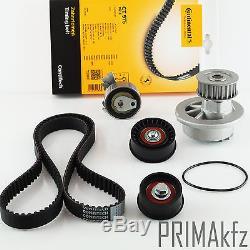 CONTI CT975 Zahnriemen + Rollensatz + Wasserpumpe Opel Astra G 1.4 1.6 16V