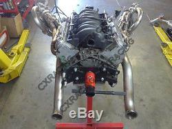 CX LS1 Twin Turbo Manifold Kit Motor Mounts Oil Pan For 63-65 Chevrolet Chevelle